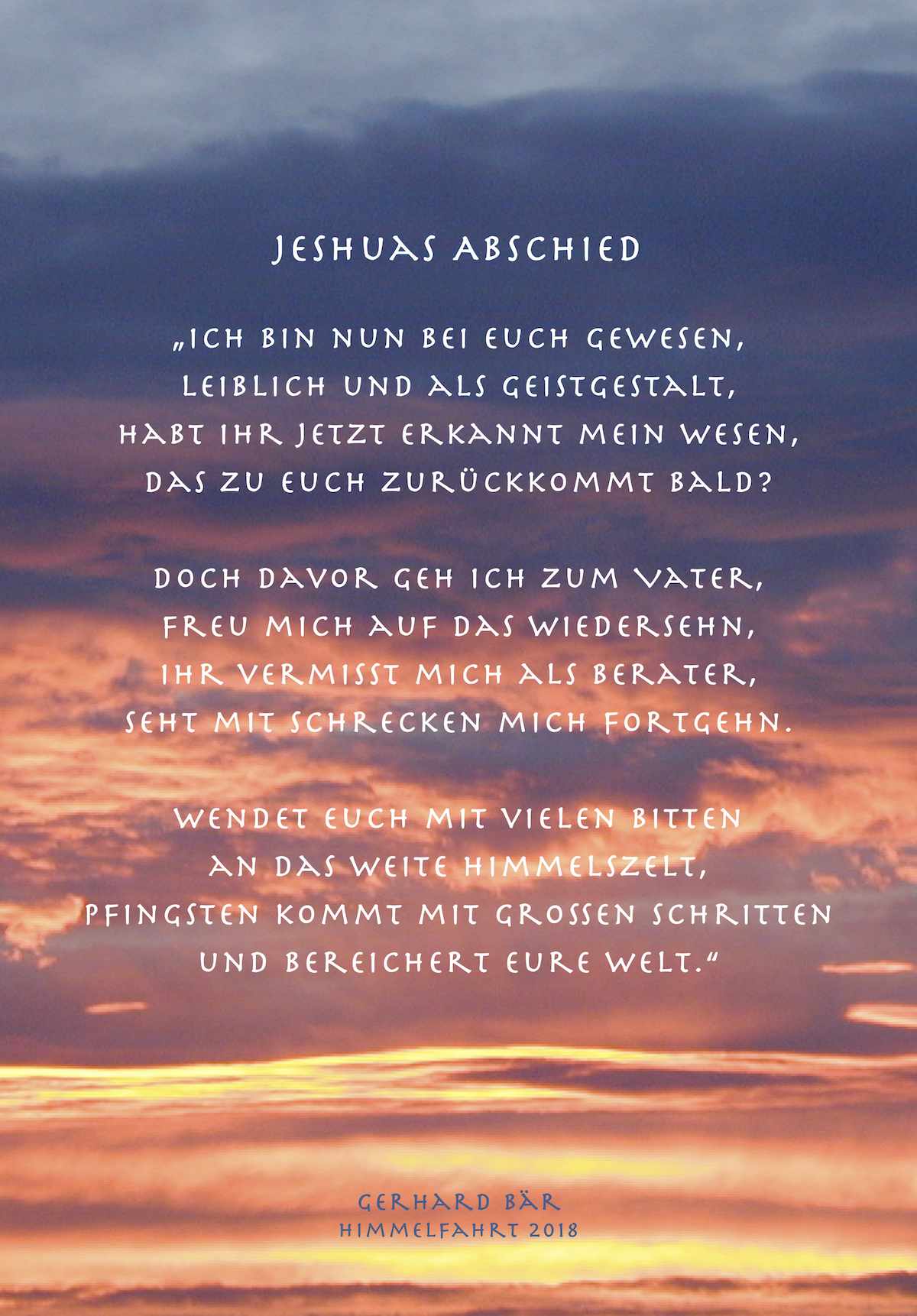 Jeshuas Abschied comp
